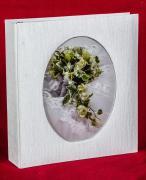 """Свадебный магнитный фотоальбом """"Тонкие штрихи"""" на 100 страниц 23х28 см"""