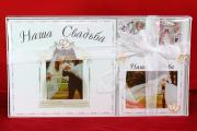 Свадебный набор для скрапбукинга - магнитный альбом-анкета на 48 страниц и рамка 13х18 см