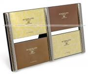 Металлическая фоторамка, рамка для 4 фото 10х15, мультирамка, simple four GF 3892
