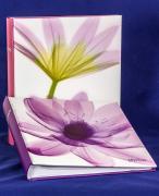 """Фотоальбом """"Ботаника"""" со светлой обложкой на 100 страниц 28х32 см, под уголки"""
