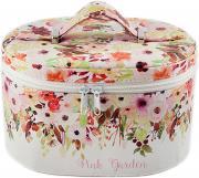Шкатулка для украшений, цвет: розовый, 21 х 16 х 13 см. 84567