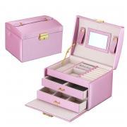 Органайзер для украшений цвет розовый