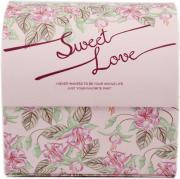 Шкатулка для украшений, цвет: розовый, 12 х 10 х 11 см. 84582