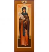 Икона святая Мелания на дереве на левкасе