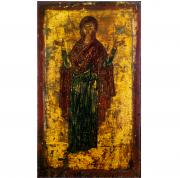 Икона Божией Матери Нерушимая Стена (Оранта) на дереве на левкасе