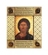 """Настольная икона """"Спас Вседержитель"""" (16 век)"""