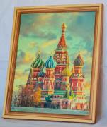 Храм Василия Блаженного, световая картина