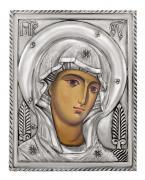Икона Богородица (венчальная пара), , посеребрённый оклад