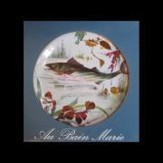 Набор декоративных тарелок РЕЧНЫЕ РЫБЫ от Au Bain Marie, 6 шт., жесть, эмаль