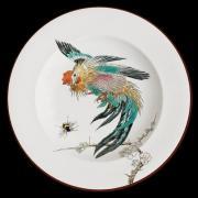 Тарелка декоративная Au Bain Mari / Птицы Петух