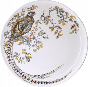 Большая настенная тарелка ФАЗАН из коллекции ОХОТА от Gien, диаметр 61.5 см, ручная роспись