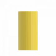 Прямая ваза с глазурью Xiaomi Bright Glazed Corrugated Straight Vase Yellow Small (HF-JHZHPX01)