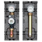 "Meibes Насосная группа, Meibes, V-UK DN25 (1""), без насоса, контур без смесителя, рабочая температура до 110 °C, давление 6 бар, подающая линия слева, арт. M66813EA"
