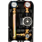 """Насосная группа с термостатическим смесительным клапаном (1"""", с насосом grundfos upso 25-65, dn 25) stout sdg-0002-002502"""