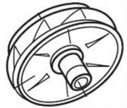 Speck Рабочее колесо 123 мм, для BADU 21-50/43,3 ~и 21-50/43G,3 ~