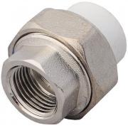 Комбинированная муфта VALFEX PP-R белая, разъем 25х3/4 дюйма ВР 10155020 NM-1270212
