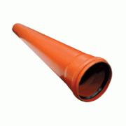 Труба канализационная Ostendorf KGEM однораструбная D-160х1000, арт. 222010