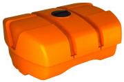 ЭкоПром Емкость горизонтальная Rostok(Росток) Agro 4000 усиленная, 1.2 г/см3 оранжевый