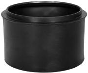 Горловина септика Акватек 300 мм, черный