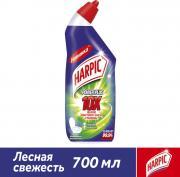 Средство дезинфицирующее для туалета Harpic Power Plus Лесная свежесть 700мл
