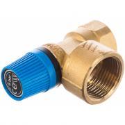Предохранительный клапан stout для систем водоснабжения 6 бар 3/4 svs-0003-006020