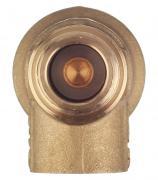 Клапан предохранительный автоматический Far (FA 2004 121230) 1/2 НР(ш) х 1/2 ВР(г) 3 бар для систем отопления