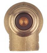 Клапан предохранительный автоматический Far (FA 2004 121260) 1/2 НР(ш) х 1/2 ВР(г) 6 бар для систем отопления