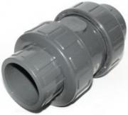 Клапан обратный Cepex PVC-U Spring под вклейку (EPDM) д.75