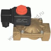 Электромагнитный клапан нормально-закрытый, ДУ 25 (1 ), 220В (соленоидный) Электромагнитный клапан нормально-закрытый, ДУ 25 (1 ), 220В (соленоидный)