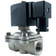 Клапан соленоидный (электромагнитный) нормально закрытый DK- 2W31 нержавеющая сталь