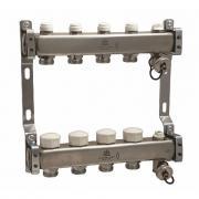 Коллекторный блок для теплого пола и радиаторного отопления 1x3/4eu отв.-3 gekon gk 73103