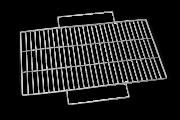 Решетка Forester для мангала BQ-N12 24х48см