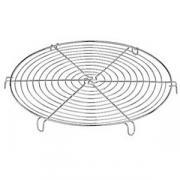 Решетка д/гриля; сталь; D=18.5,H=2.2см; металлич. COM- 04020518