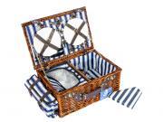 Набор корзина для пикника на 4 персоны 50*22*33 см.