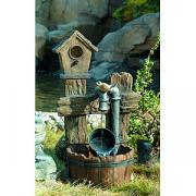 GWXF02400-S GREEN APPLE Фонтан садовый Лесной дом 73, 5см