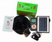 Капельный полив Синьор Помидор на солнечной батарее (автомат на 60 растений)