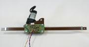 Электрический привод форточек теплиц.