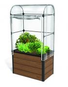 Мини теплица для растений Keter Maple green house, коричневый, серый