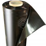 Плёнка чёрная Вест Энтерпрайз ГОСТ, 1500х2х100 мкм, рулон 100 п.м.