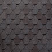 Гибкая черепица Tegola Nordland Лемех Серо-коричневый