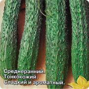 Семена Огурец Китайский Холодоустойчивый F1, 0,2 г, СеДеК