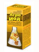 Средство Ваше Хозяйство антисептическое и дезинфицирующее Агройод 100 мл