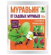 Средство защиты от вредителей Грин Бэлт 55573 Муравьин 50 г