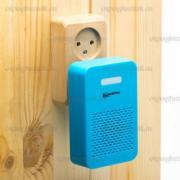 Ультразвуковой и электромагнитный отпугиватель грызунов 2 в 1 Мангуст SD-049