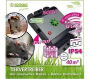 MICE+RATS REPELLER Мобильный ультразвуковой отпугиватель крыс и мышей, Германия