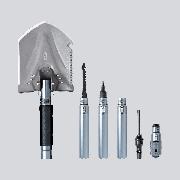 Лопата штыковая Xiaomi 19894 Early wind outdoor multi-function shovel HW180101 с черенком