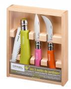 Набор садовых ножей Opinel Coloured Gardener