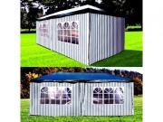 Afina Садовый шатер Афина-Мебель 3х6м AFM-1015C, цв. Blue-white [AFM-1015C]