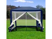 Afina Садовый шатер Афина-Мебель 2х3 м с сеткой AFM-1061NB Blue [AFM-1061NB]