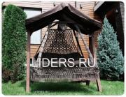 Подвесные плетеные качели СЕАРА